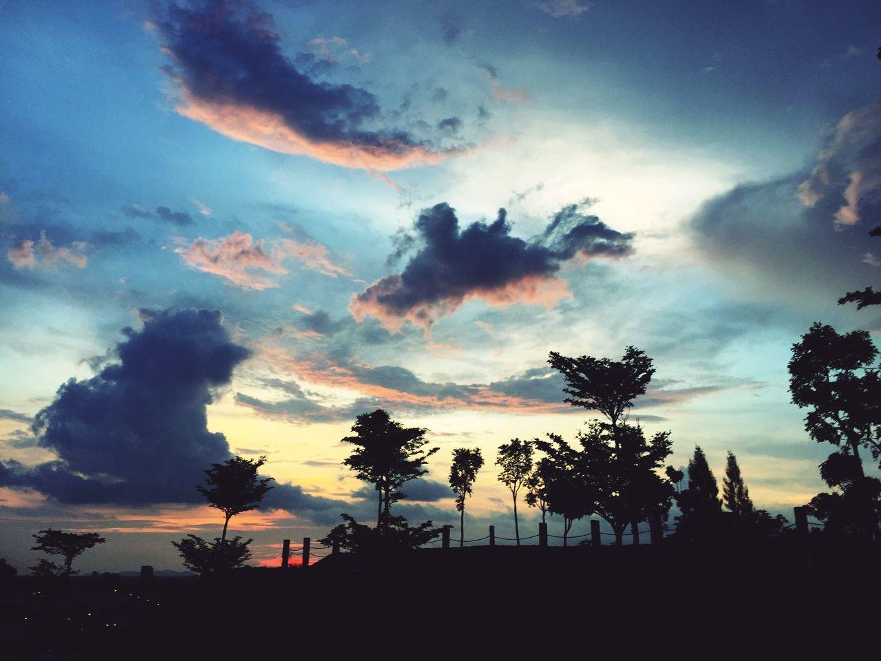 Sky Sunset Landscape ASIA EyeEmNewHere