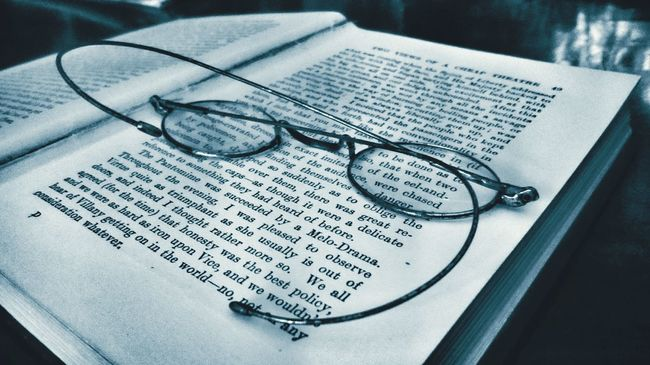 No People Close-up Eyeglasses  Indoors  Day book History Tourism Books Books ♥ Indoors