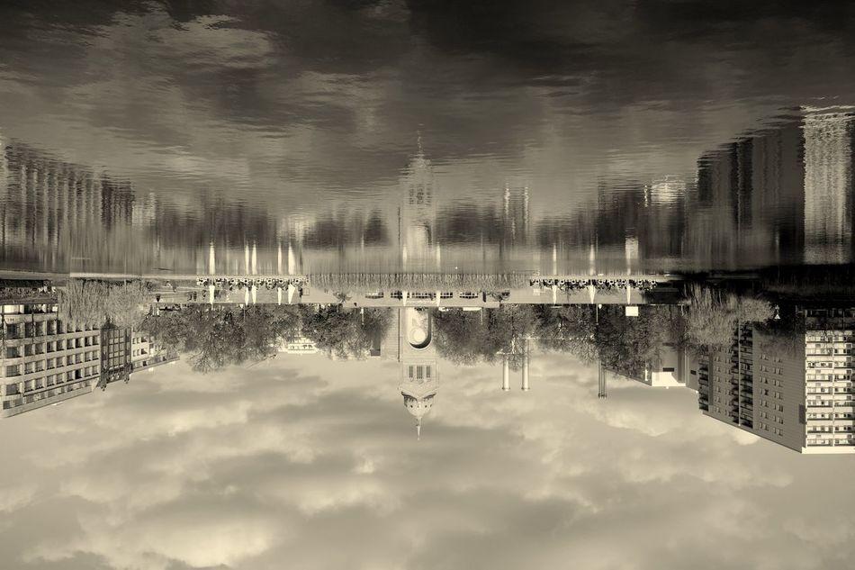 Sunday_flip Water Reflections Fortheloveofblackandwhite NEM Black&white