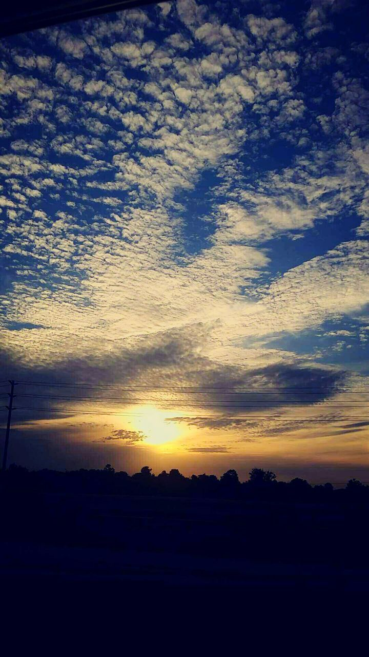 sunset, silhouette, nature, beauty in nature, tranquil scene, scenics, sky, tranquility, no people, landscape, outdoors, tree