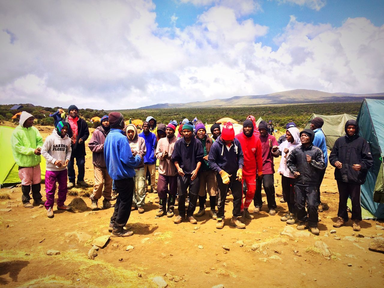 Kilimanjaro Portors Kilimanjaronationalpark Trekking Singing Outdoors Mountain Mountain Photography TrekkingDay Adventure Tanzania Amazing People Adventure Holiday Gadventures Travel Travel Photography