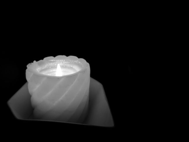 Dark Daynight Candle Light Lonely Gray Color Fair Weekday BluemondayNo People Candlelight Darkroom Sleepytime Natural Light Relaxing