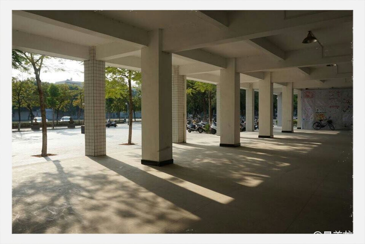 architecture, built structure, architectural column, sunlight, no people, day, outdoors, shadow, modern, building exterior