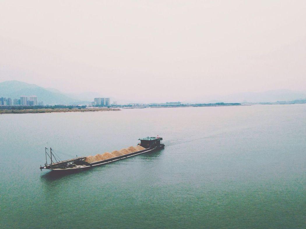Fuzhou, China Boats