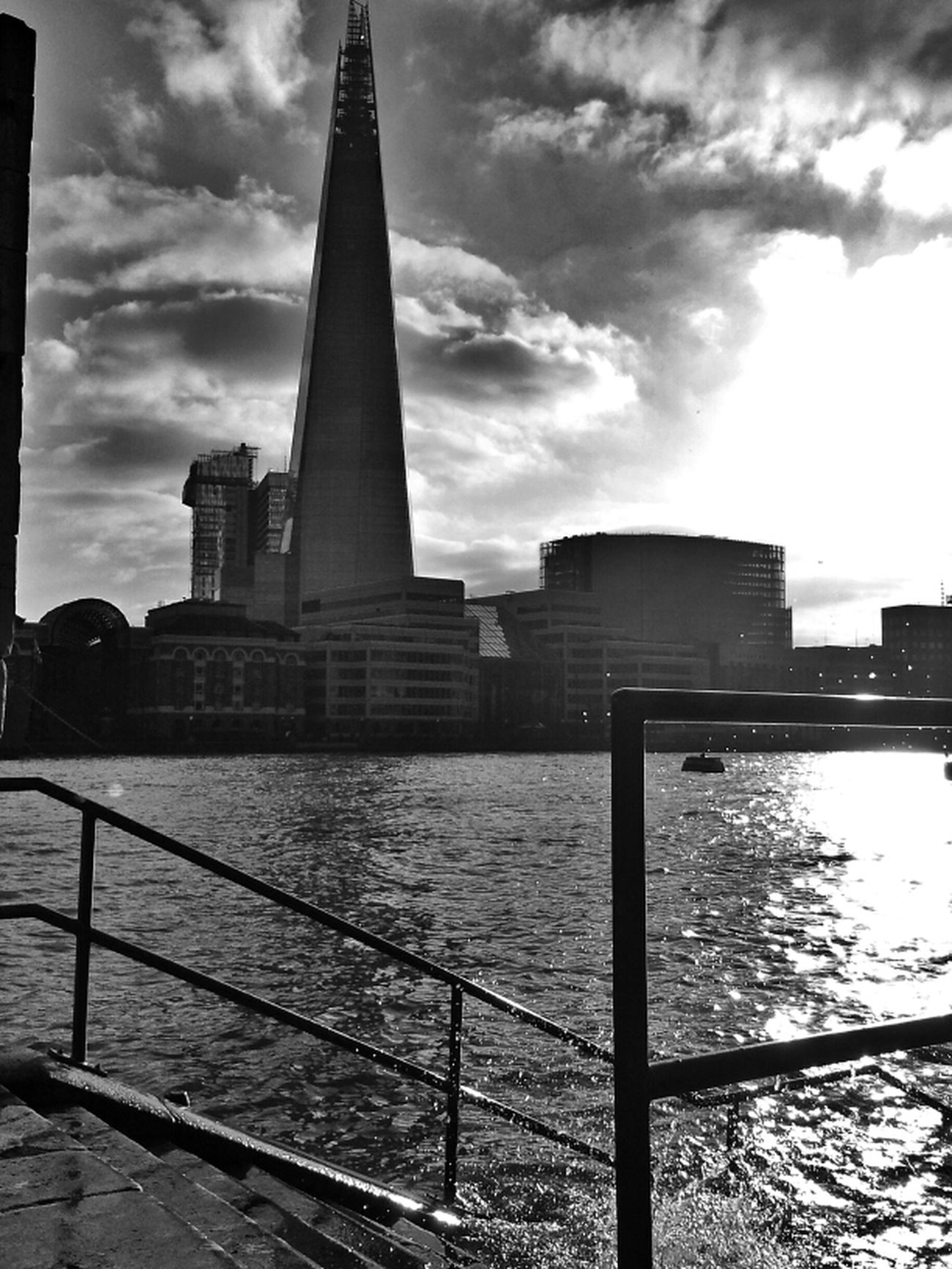 High tide Blackandwhite London Water_collection Eye4photography  Hot_shotz Bnw_society Bw_collection