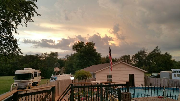 Storm rolling in!