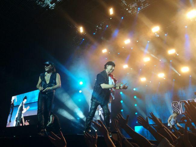 Music Brings Us Together Scorpions Georgia Live Glory Night