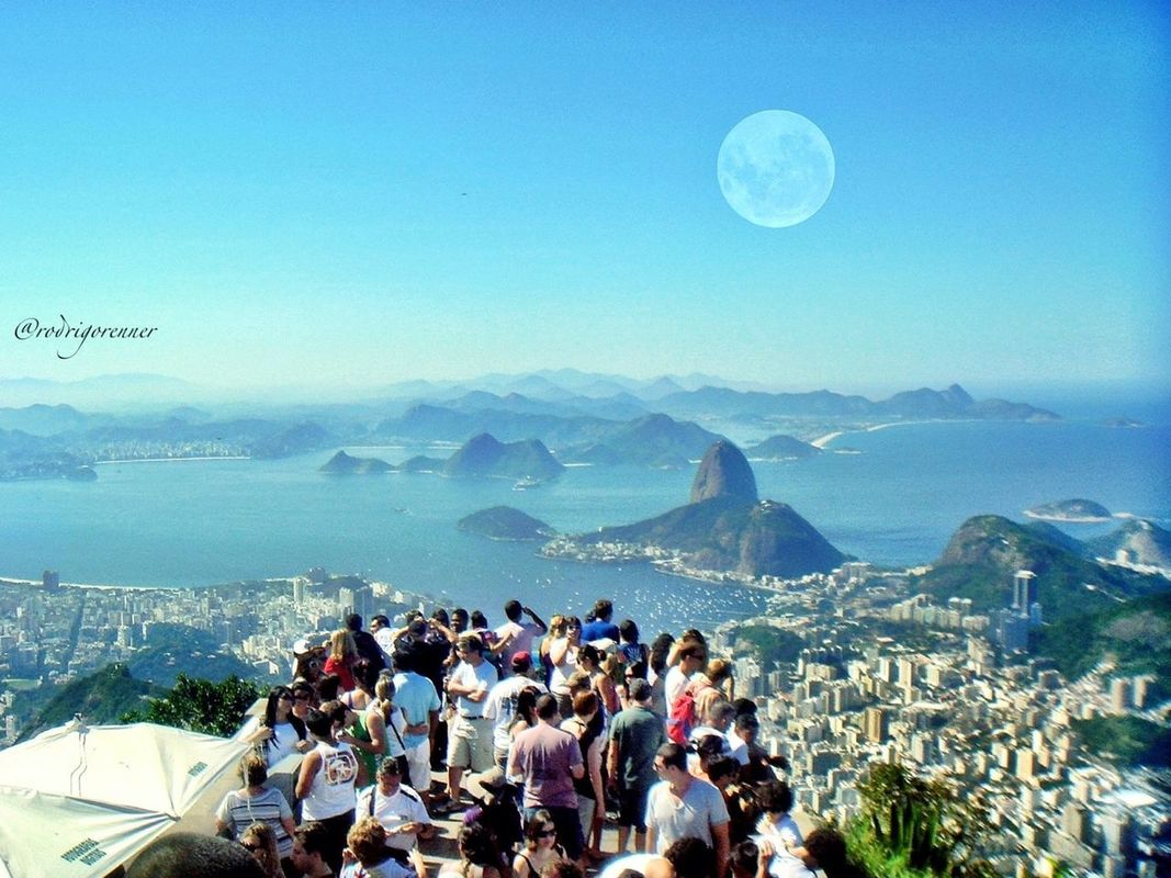 Rio de Janeiro (view from Christ The Redeemer) Have a blessed weekend dear followers !!! by Rod
