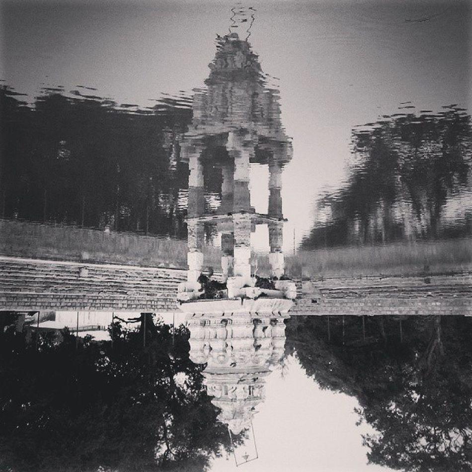 NH4 Mulbagal Reflection Water Vscocam VSCO Namma_karnataka Nkmemes Nammakarnatakamemes Namma_bengaluru Instabangalore India Instaphotography Black -and-white