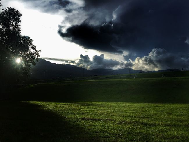 People And Places My Fevorite Place Green Darkness And Light Clouds And Sky Storm Cloud Rainy Days