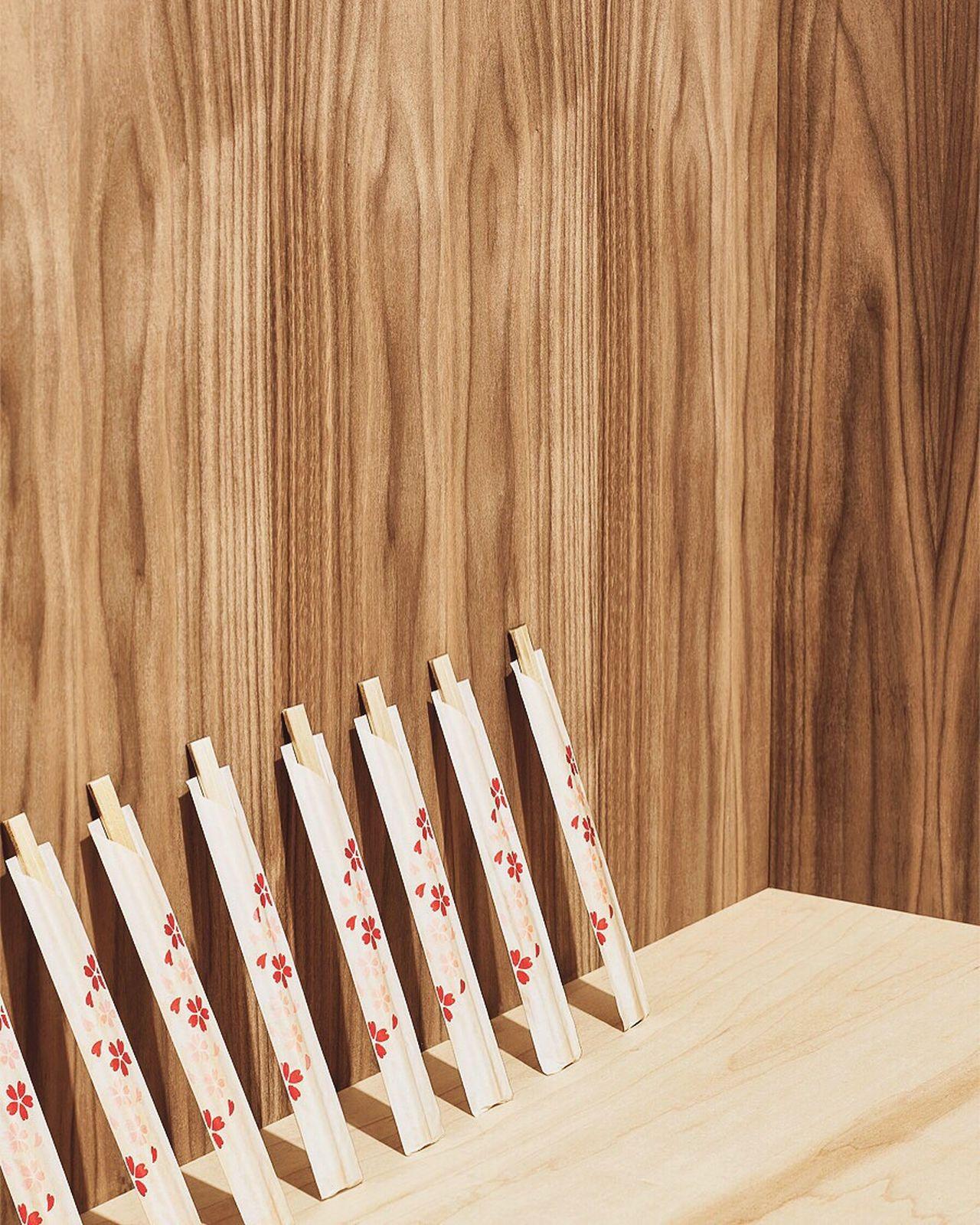 Wood - Material No People Shapes And Forms Wood Grain Fresh on Market 2017 Chopsticks Chop Chop Soldier Daiso Uniform Studio Shot