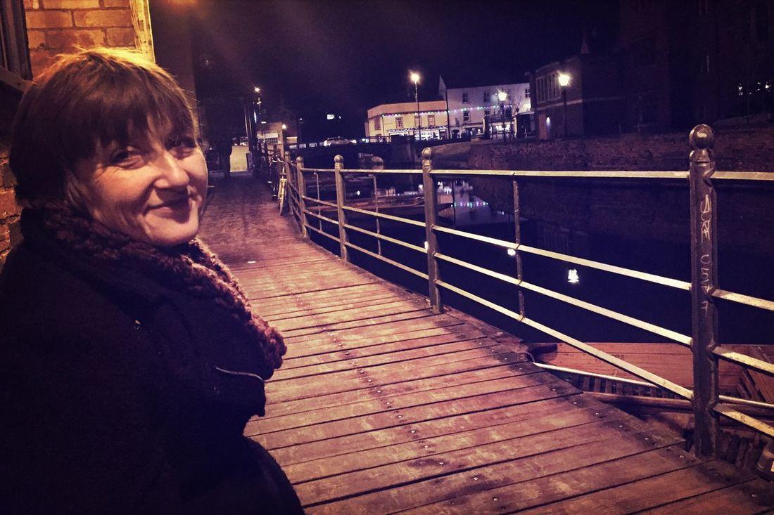 Cambridge Portrait Riverside Woman