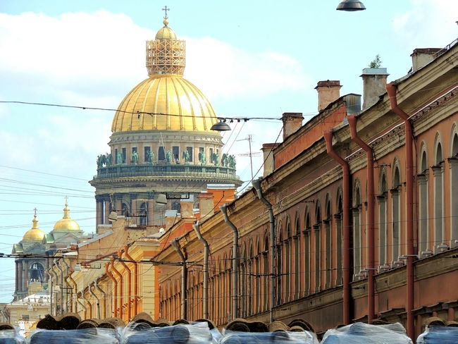 St.Issack Cathedral Sankt-Petersburg Magic Place ☀️ Sunnyday☀️ Summertime Walking Around Lamps