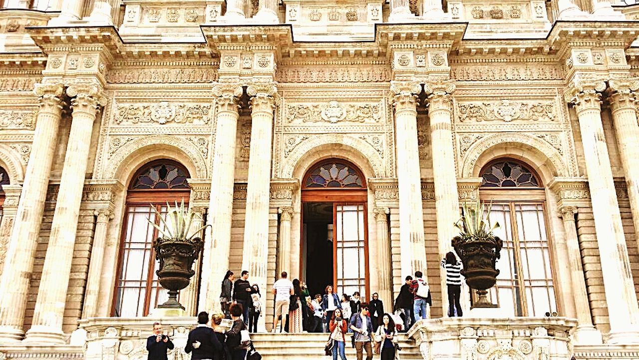 Words can't describe the beauty of this Palace Dolmabahçe Stunning Myfutureplace Wannagoback Breathtaking Loveit Istanbul Turkey