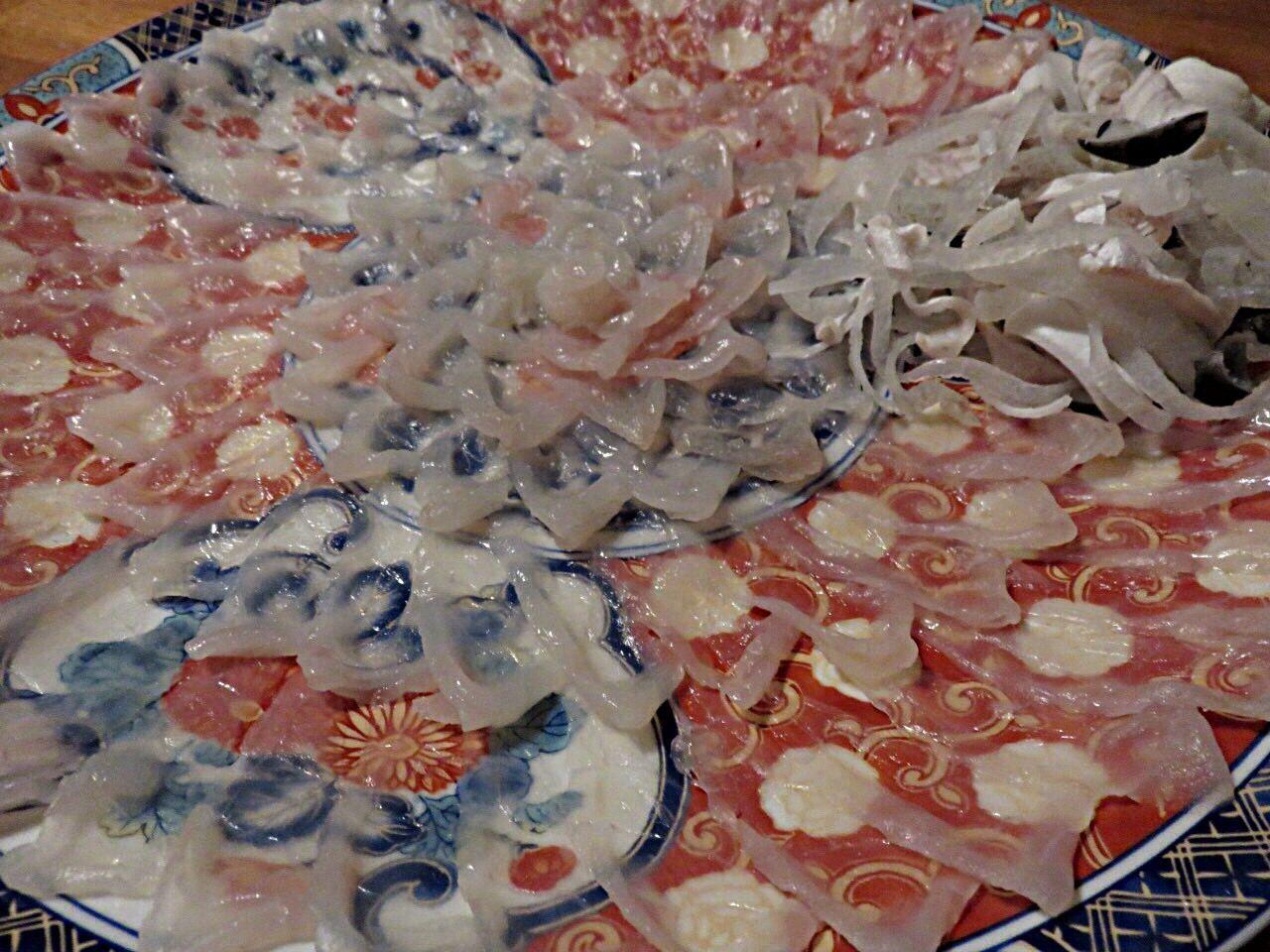 大晦日 河豚 ふぐ ふぐ さしみ さしみ 刺身 刺身 Sashimi Dinner Sashimiday Sashimilovers Fugu Japanesefood Yammy!!  Yammy  Delicious