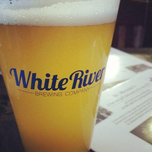 White Creek Wit...I like! Whiteriverbrewco Springfieldmo Localbrew