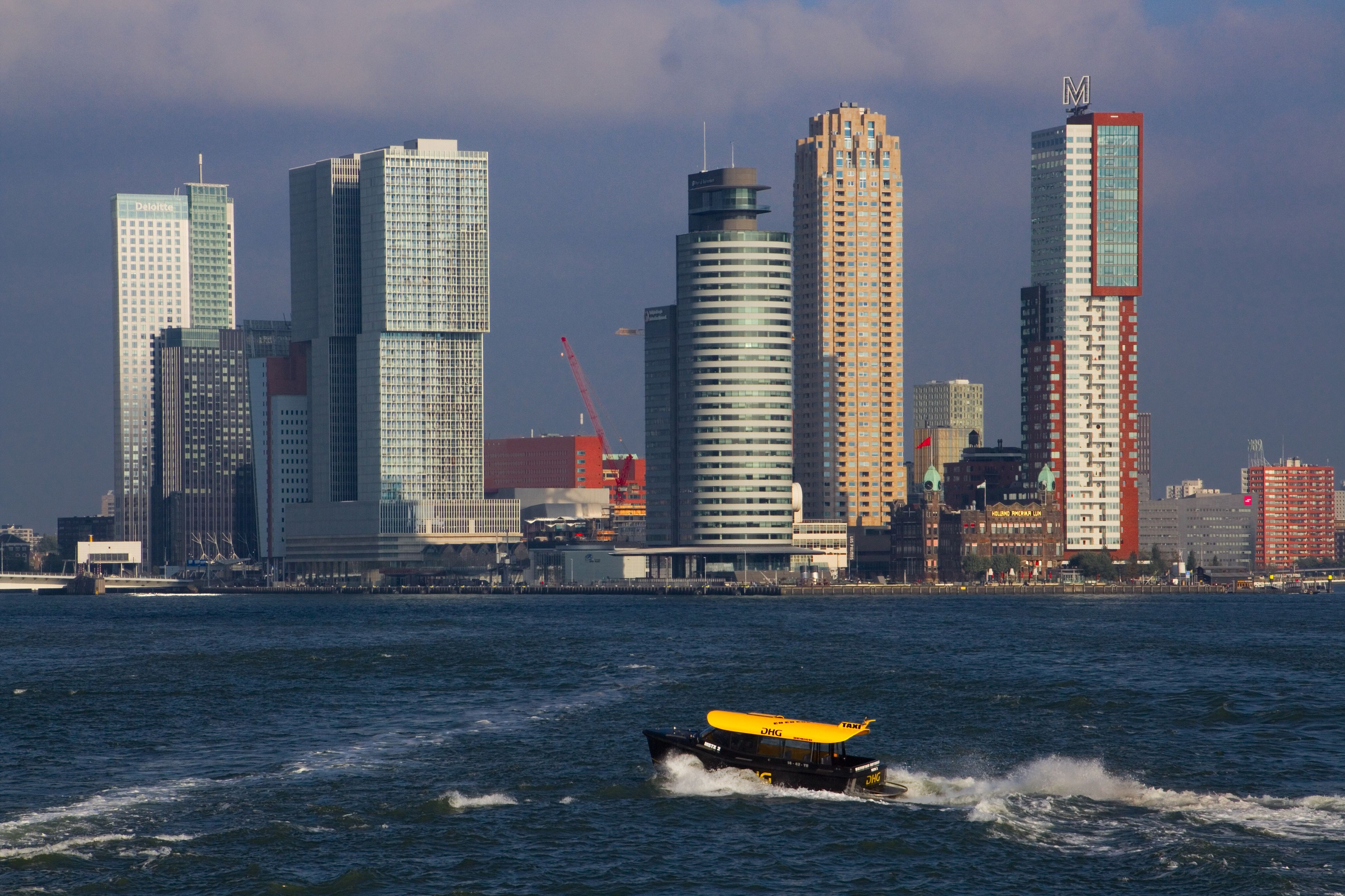 Rotterdam Netherlands Netherlands ❤ Harbor Harbour Harbour View Ship Ships Skyline Built Structure Building Buildings Architecture Architecture Architecture_collection Water Waterfront Water_collection
