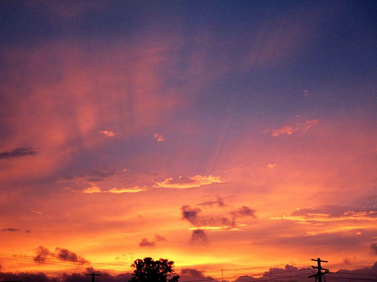 Sky Sunset Beauty In Nature Landscape Heaven Heaven On Earth Heavenly Sky Heaven Meets Earth
