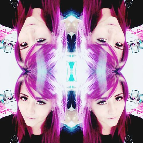 That's Me Check This Out Hello World Purple ♥ Purplehairdontcare Beautiful ♥ Pretty :) Beauty Purple Purplehair