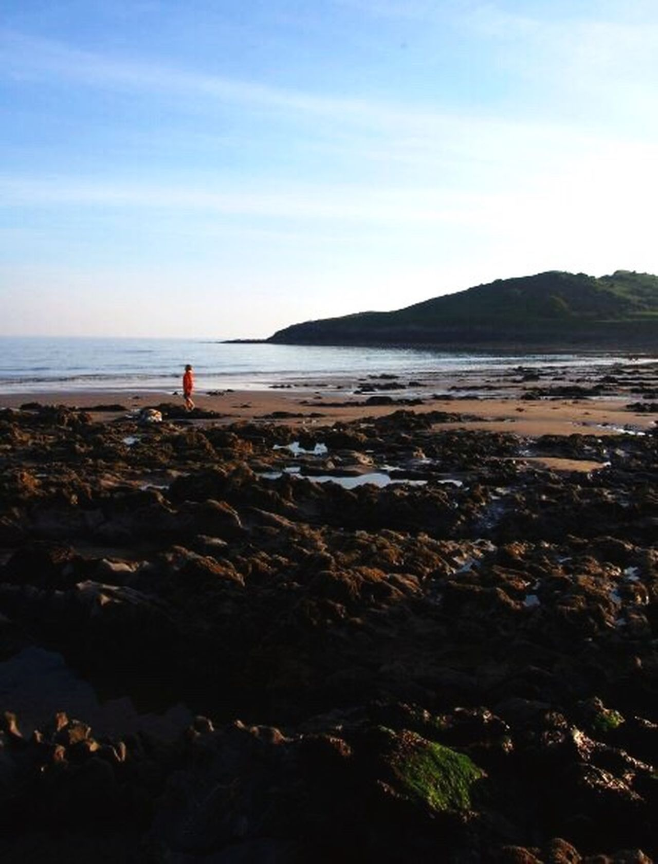 Beach Sea Water Tranquil Scene Beauty In Nature Vacations Shore Tranquility Coastline Sky The Mumbles Wales Mumbles