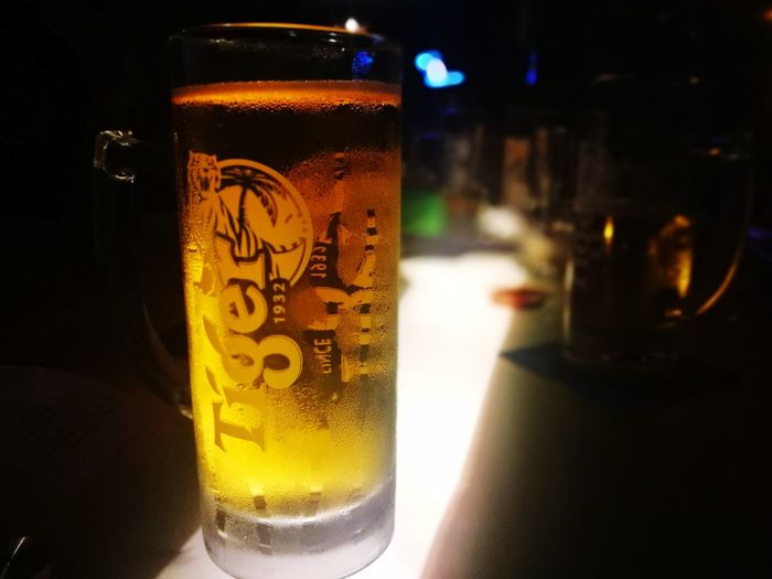 Septembeer Beer - Alcohol Beer Glass Drink Tigers Alcohol Food And Drink Cold Temperature Refreshment Drinking Glass Frothy Drink Condensation Close-up Drinking Bottle Pint Glass Bar - Drink Establishment Liquid No People Food And Drink Establishment Freshness Defocused