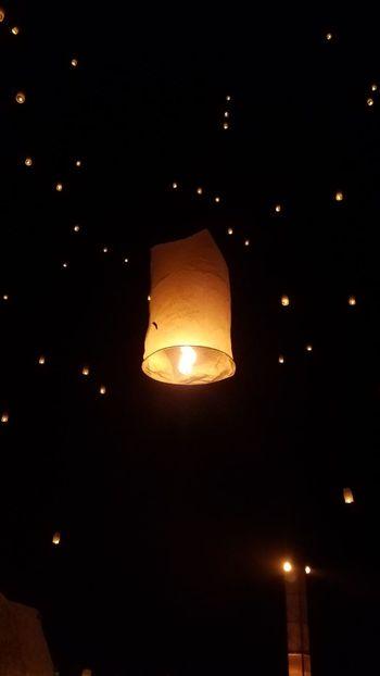 Outdoors Lantern RiseFestival Night