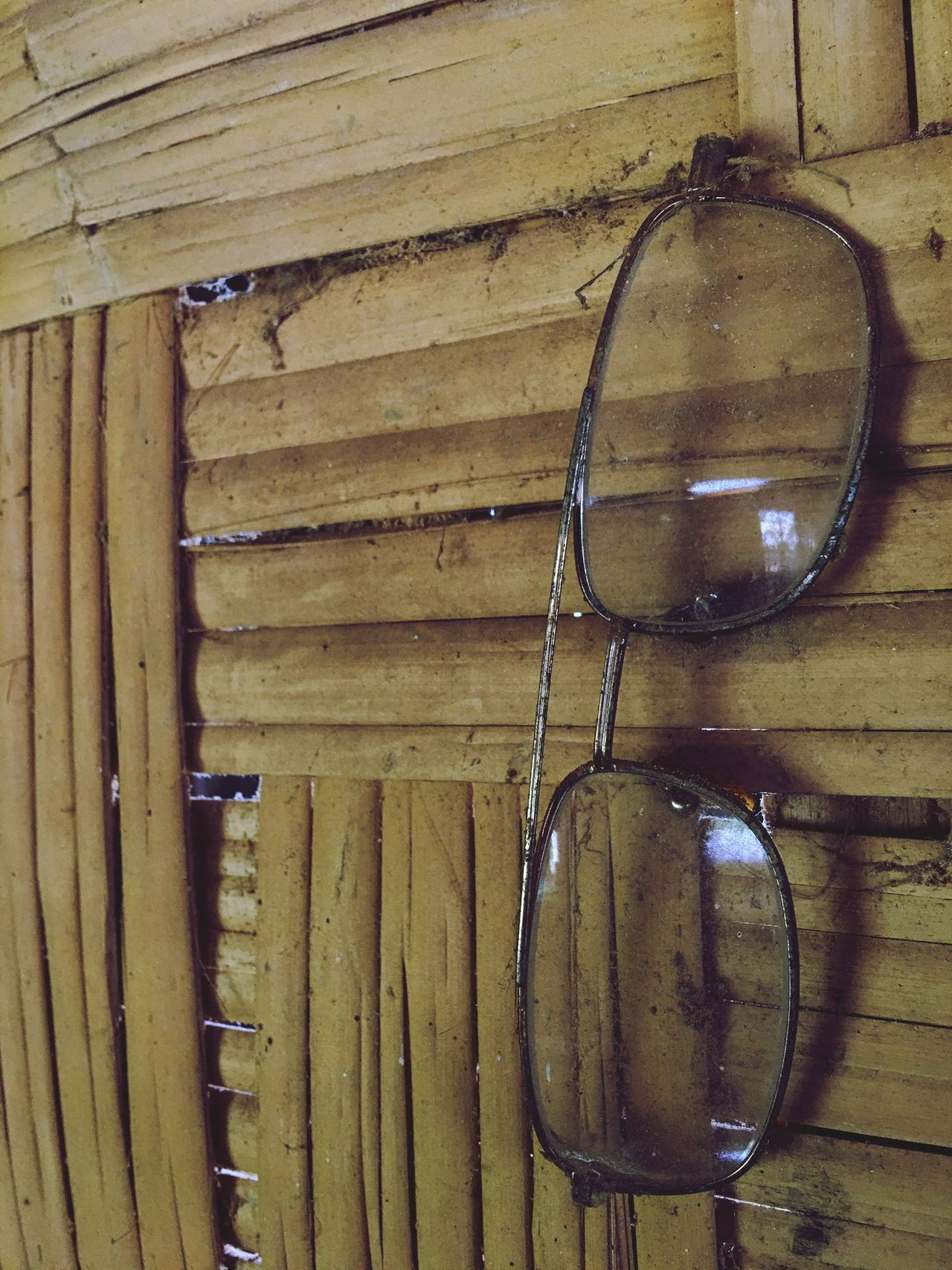 Wood - Material No People Hanging Indoors  Close-up Day Glass Spectacles Glasses