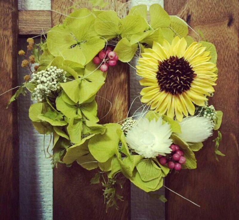 お花 Flowers お花🌹 Hand Made1日体験🎵 造ってみた🙋