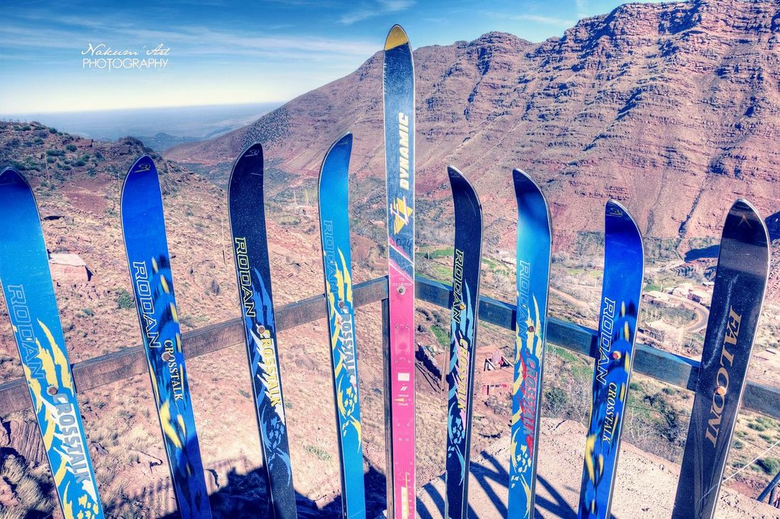 Mountains Clouds And Sky Skiboard Snow ❄ Landscape MyPhotography Morocco Oukaimden Enjoying The View