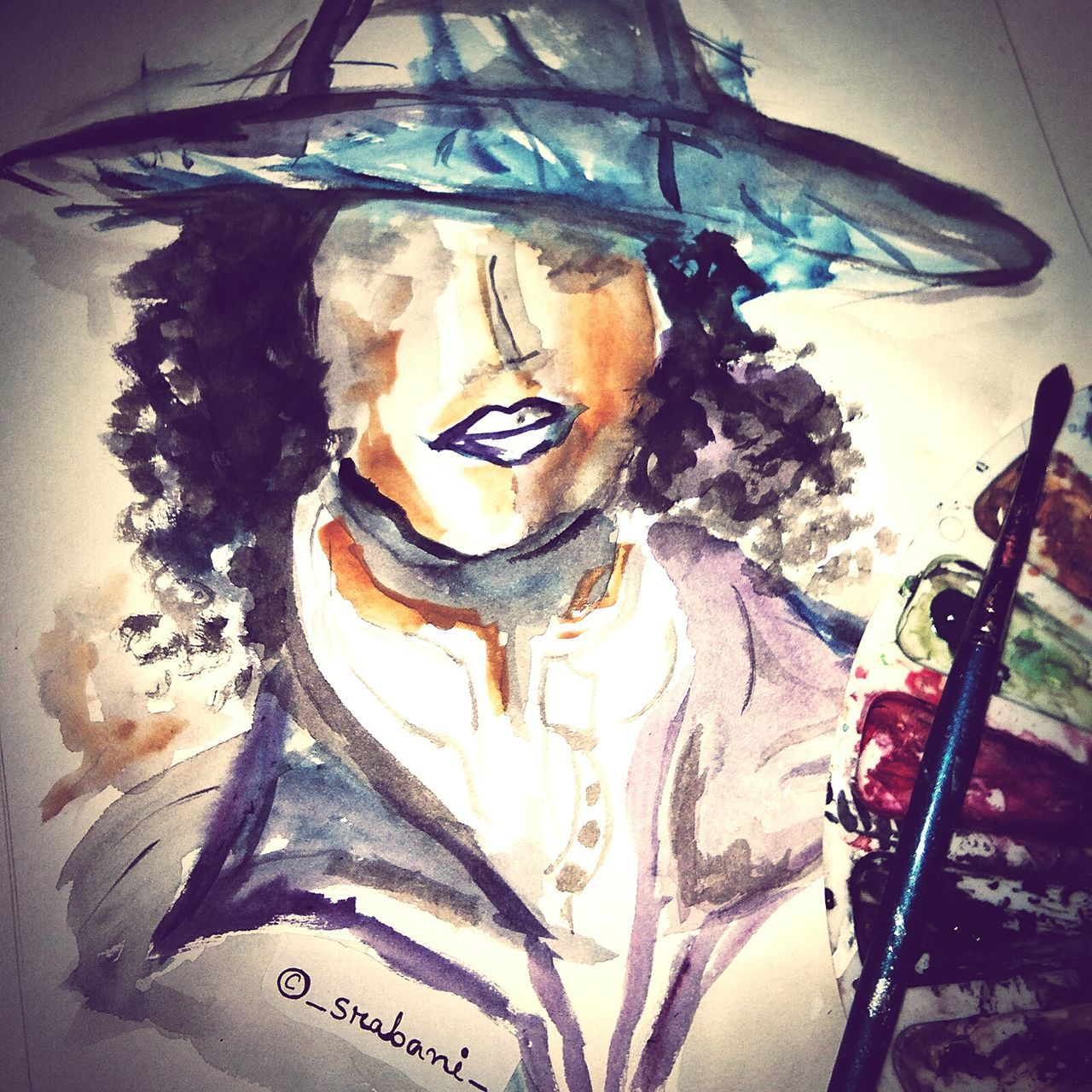 My art Abstract Close-up Men One Person People Taking Photos Draw MyArt Myartbook Watercolor Painting Wip