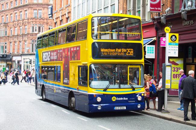 Autobus Autobus De Dos Pisos Autobuses Urbanos Bus City City Bus Double Decker Bus Dublin Ireland Irland Irlanda Public Transportation Stadtbus Traffic Transport Transportation Transporte Tráfico Verkehr On The Way