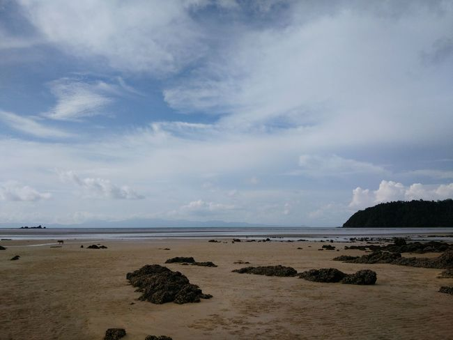 Beach Sea Cloud - Sky Sky Sand Nature Beauty In Nature Thailand Relax