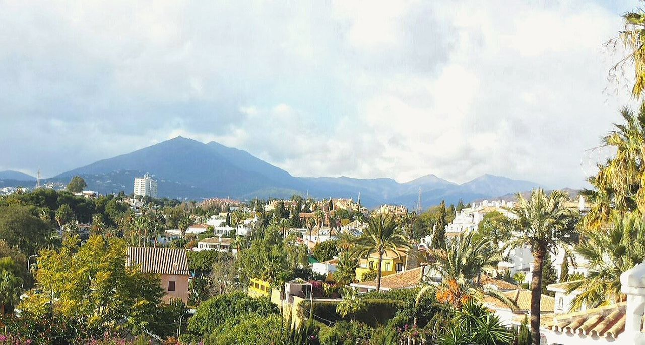 Looking Down On Marbella