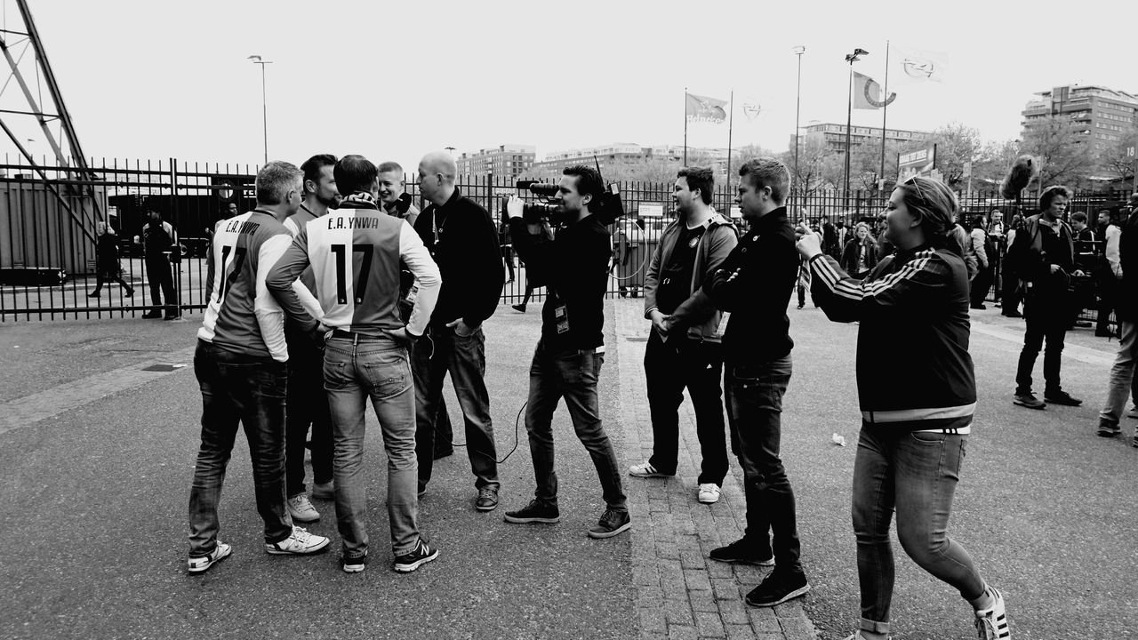 Sport Adult Large Group Of People Standing People Crowd Togetherness Adults Only Encouragement Outdoors Feyenoord Soccer Fans For Better Or For Worse (c) 2017 Shangita Bose All Rights Reserved From My Point Of View Neighborhood Map