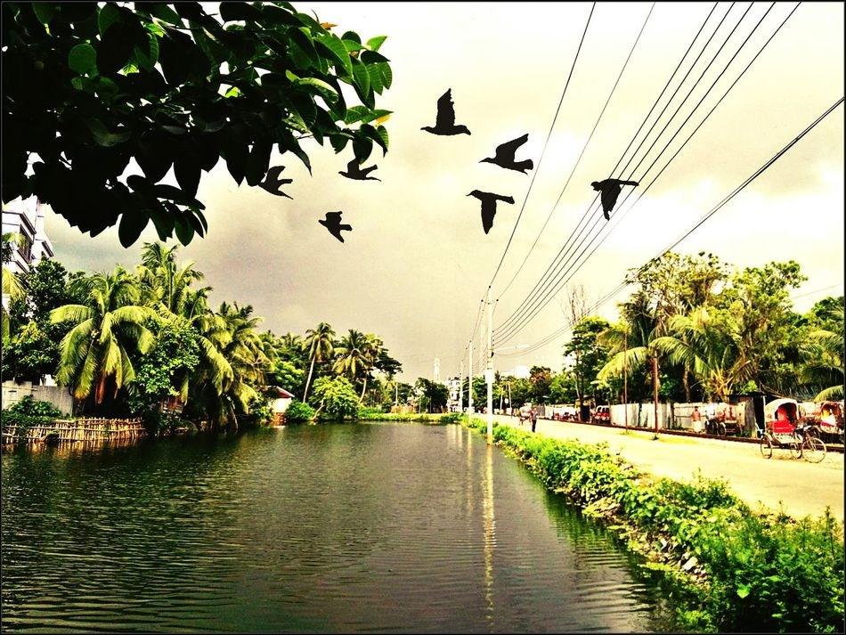 Good Weather ♥ At My Home Town Lovely Atmosphere feeling awesome