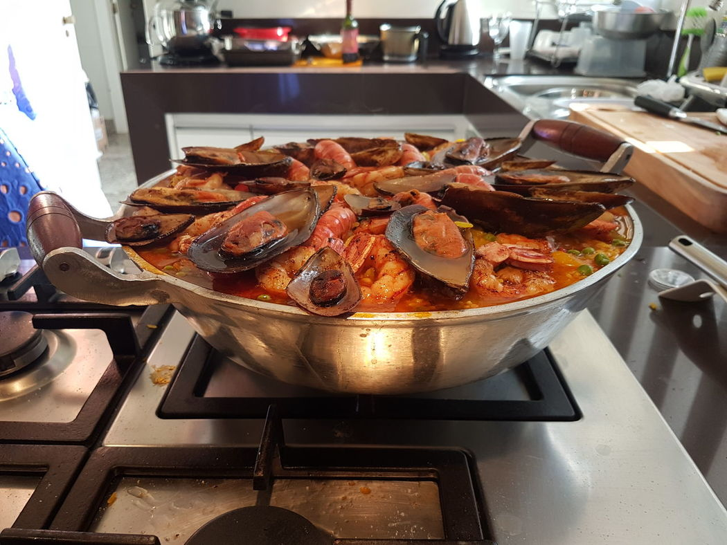 Indoors  No People Food Freshness Day Paellas Paella De Marisco