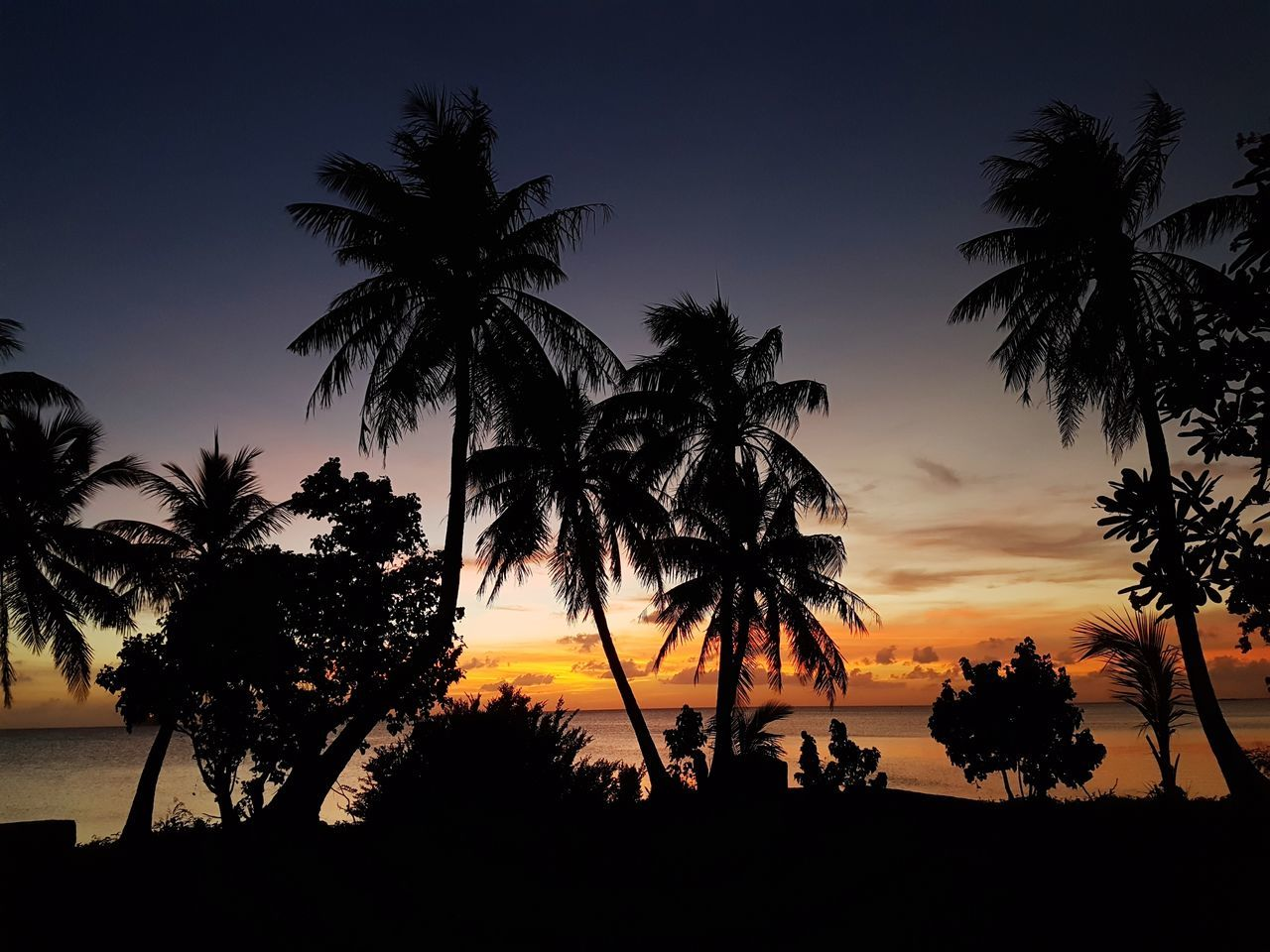 Cnmi Northern Mariana Islands SunsetsAndSilhouettes