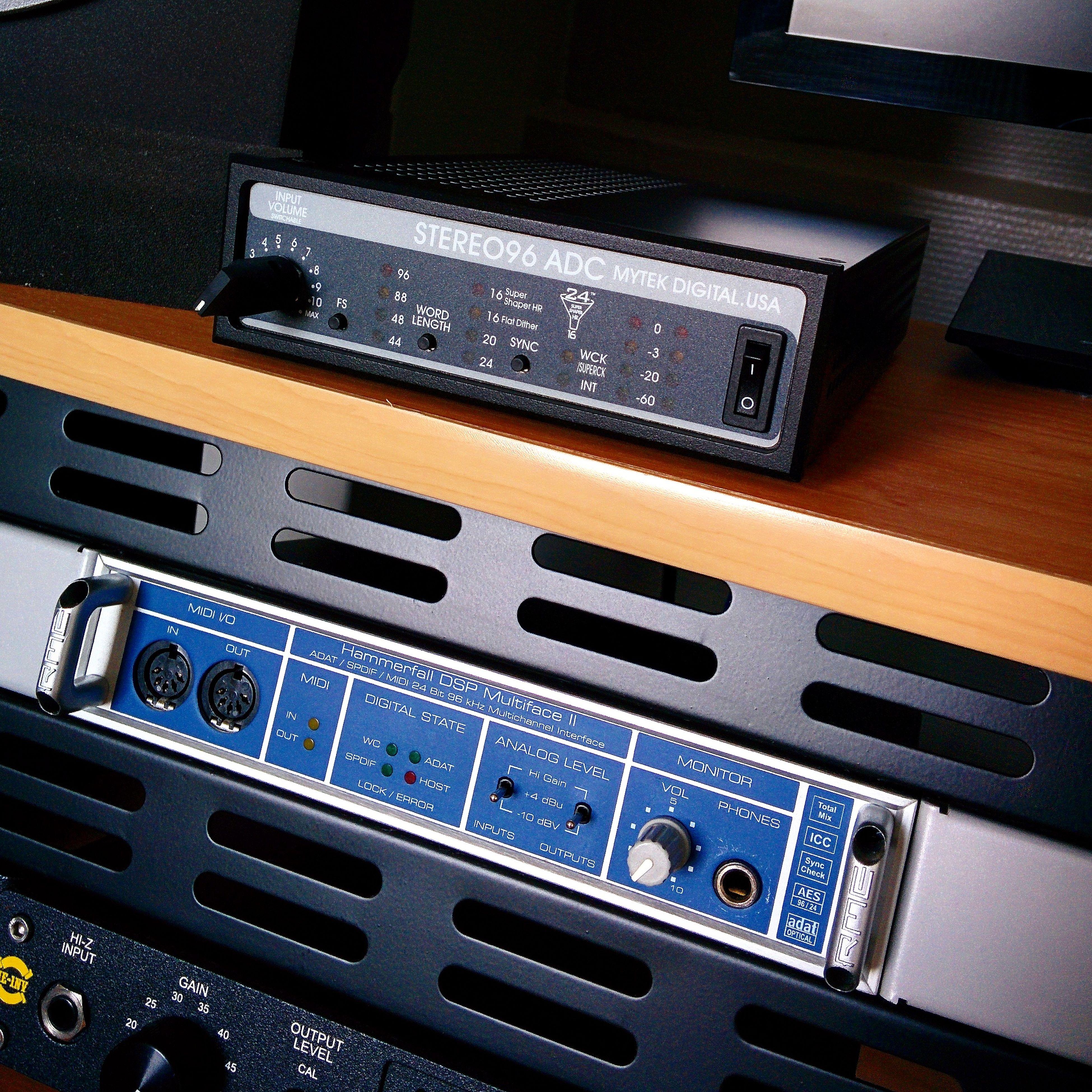 Nouvelle acquisition Mytek ADC 96 convertisseur 2 canaux !! Mytek Homestudio  Ramdan French