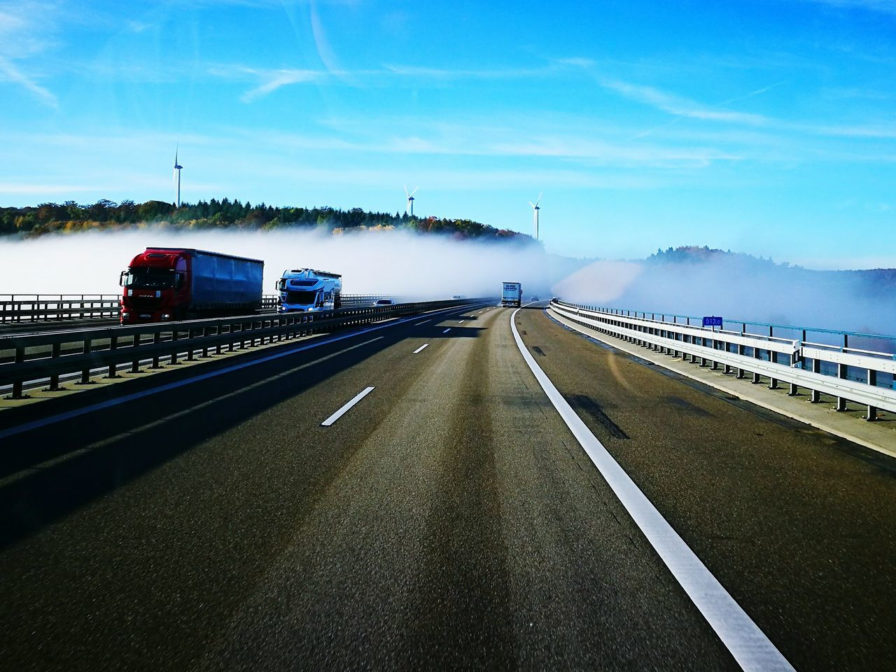 The Way Forward Road Sky Transportation No People Cloud - Sky Highway Outdoors Motorway In To Fog Fog Foggy The Way Forward Road Sky Transportation No People Cloud - Sky Highway Outdoors Tree Day Nature