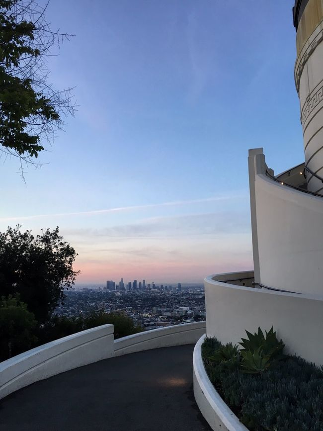 Sunrise Downtown Los Angeles Los Angeles, California Griffith Observatory