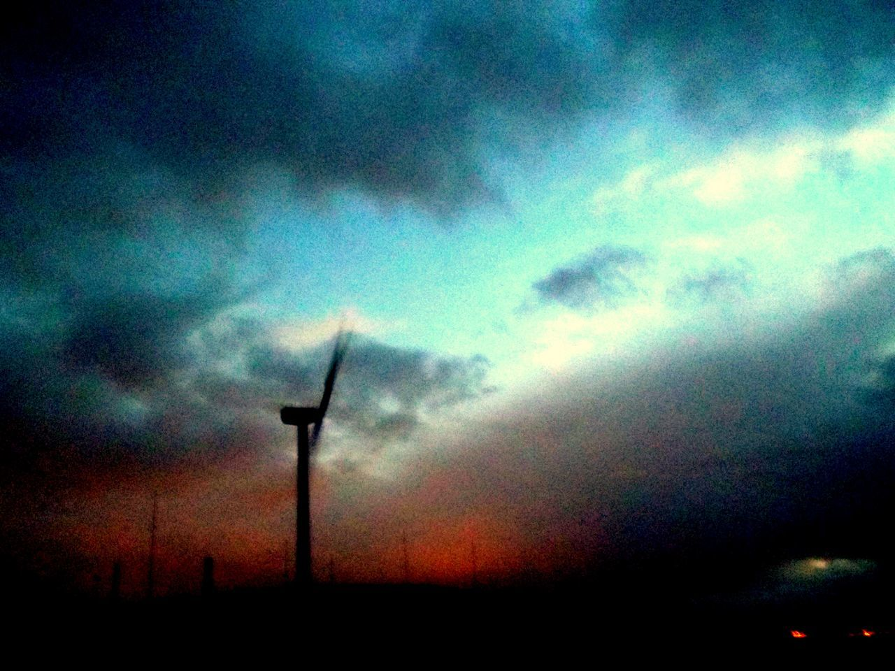 alternative energy, wind power, wind turbine, environmental conservation, fuel and power generation, renewable energy, windmill, industrial windmill, sky, cloud - sky, technology, low angle view, silhouette, nature, no people, outdoors, sunset, rural scene, scenics, beauty in nature, traditional windmill, day