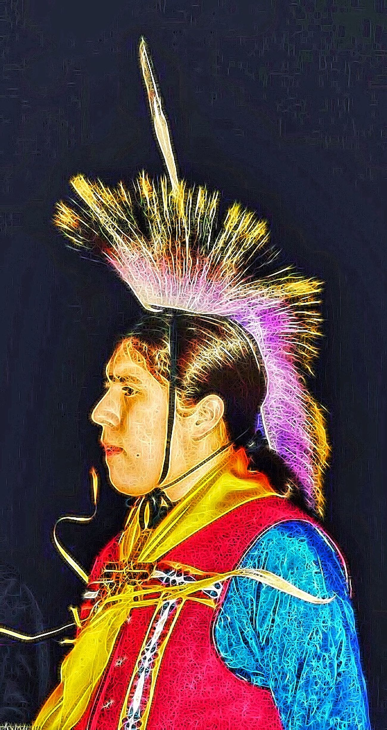 Native Pride Native American Indian Native American Native Native Dancer Proud Cultural Heritage Artistic Photography Nightphotography Authentic Moments Proud Moment