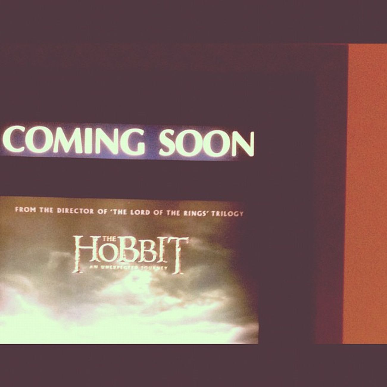 I'm legolas waiting !!! 😏TheHobbit Peterjackson Lordofthering Hollywood MOVIE Epic Bangkok Thailand
