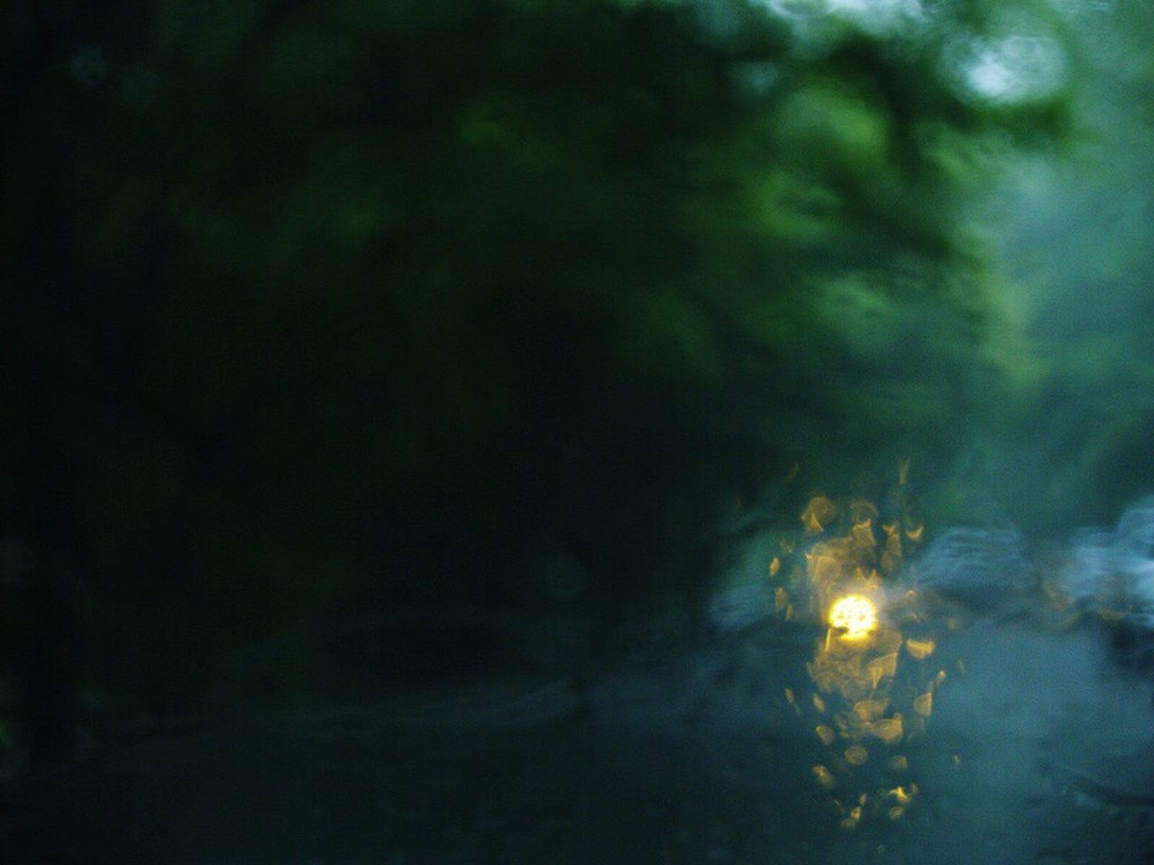 Rain Rainy Days Gloomy Weather Green Light Motion Illuminated Water No People Outdoors EyeEmNewHere