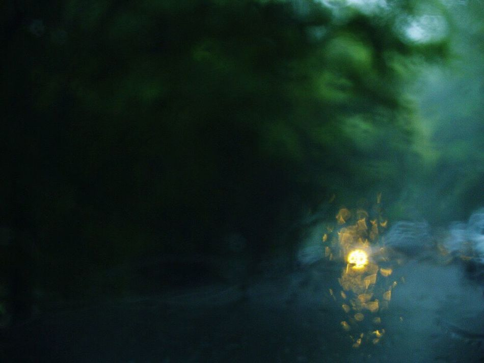 Rain Rainy Days Gloomy Weather Green Light Motion Illuminated Water No People Outdoors EyeEmNewHere