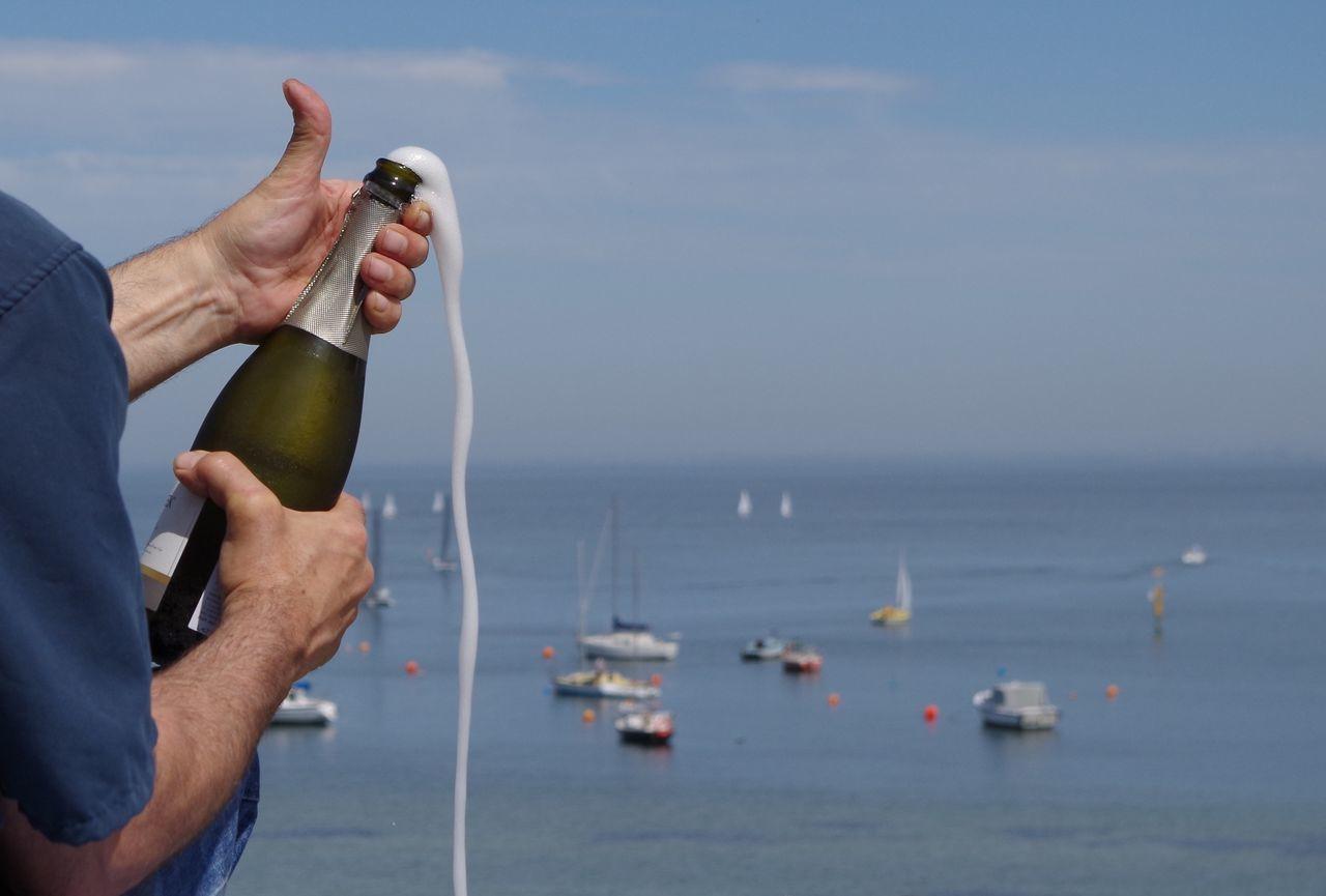 Beautiful stock photos of wine, Alcohol, Blue, Bottle, Celebration