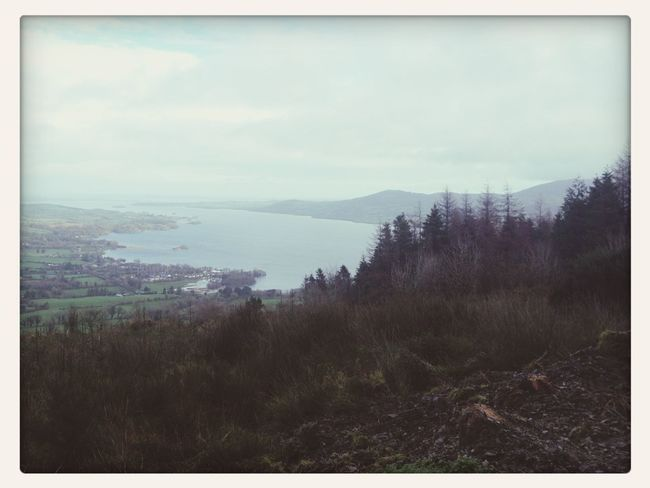Hiking in Killaloe this morning! Walking Around