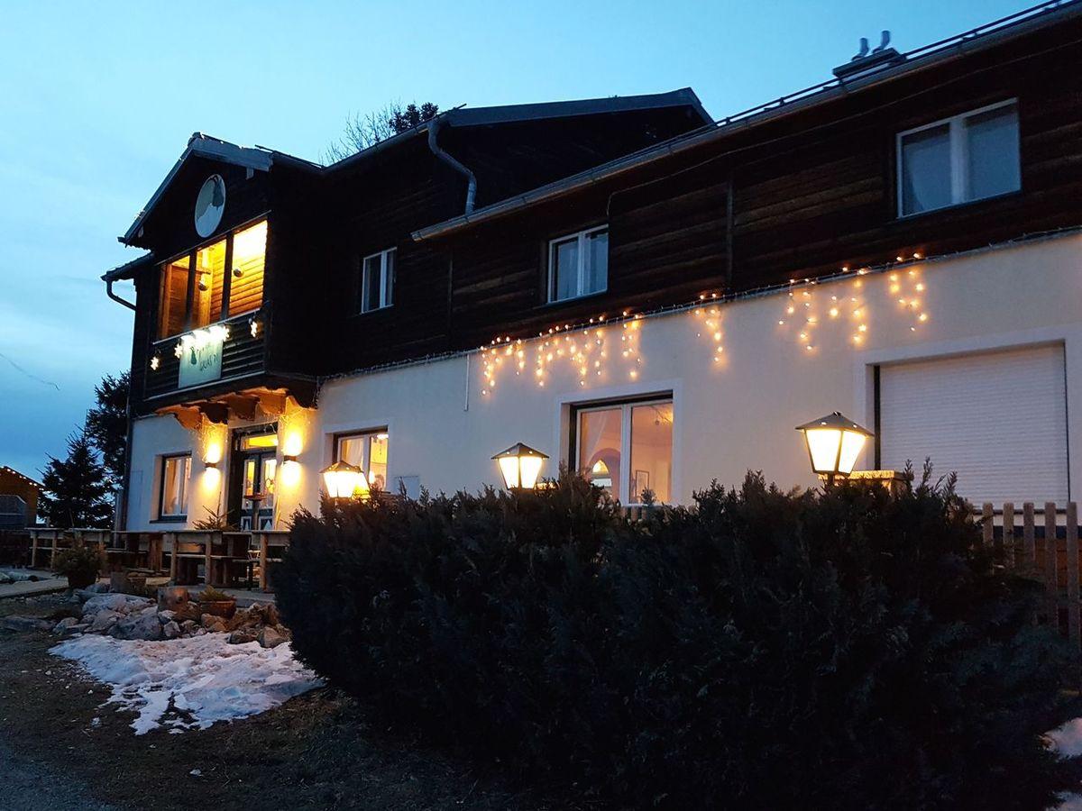 Dusk Building Exterior Architecture Night Illuminated Built Structure No People Outdoors Sky Gaisberg Austria