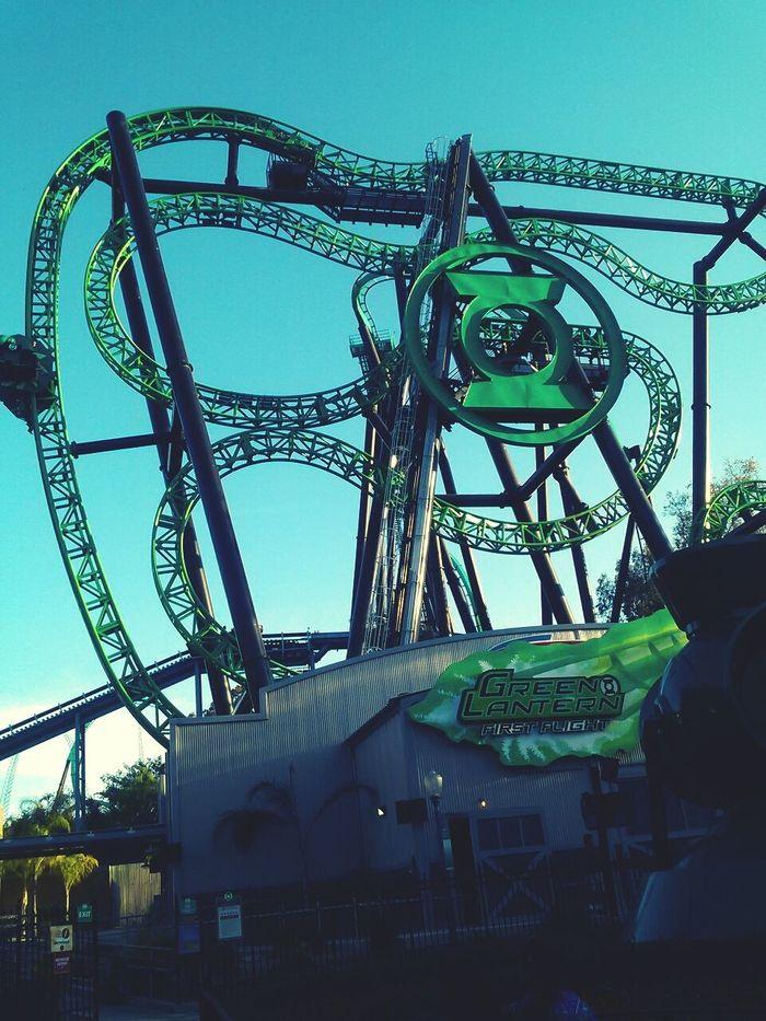Greenlantern Crazyride