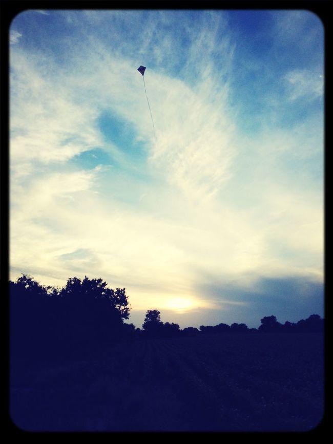 Flying A Kite Myranch Mexico